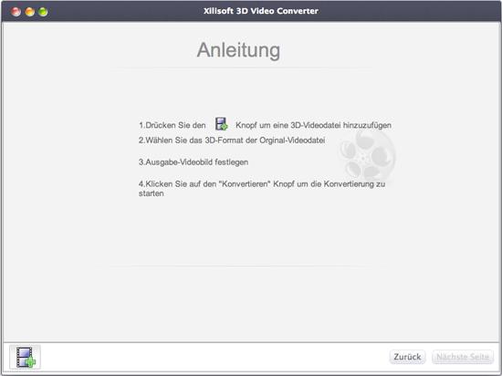 Xilisoft 3D Video Converter Mac, 3D Typ verändern Mac