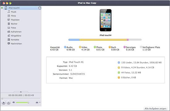Xilisoft iPod to Mac Copy