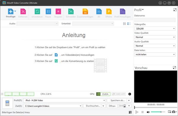 video drehen und speichern windows 10