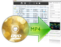Mac DVD MP4 Converter - dvd in avi, dvd in mpeg